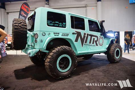 jeep nitro 2016 2016 sema nitro gear jeep jk wrangler unlimited