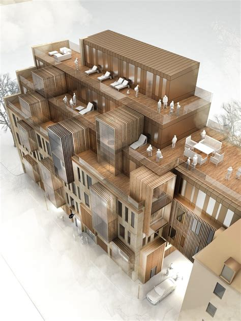 design competition models new apartment building in unesco world heritage site in