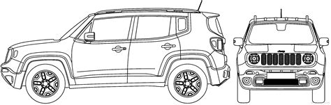 jeep renegade coloring page 100 jeep drawing the dreaded iod fuse blowing jeep