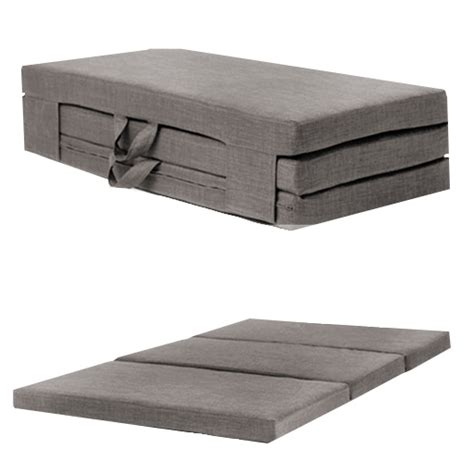 fold a bed fold out guest mattress foam bed single double sizes