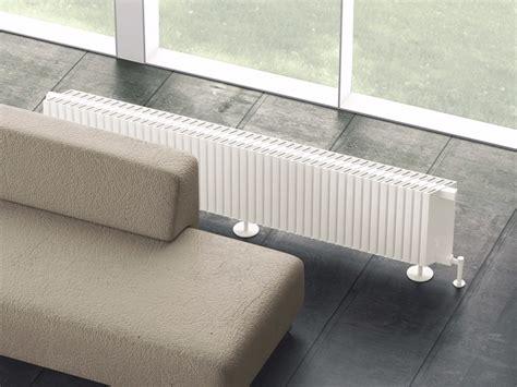 radiatori a pavimento termoarredo modulare in alluminio a pavimento obliquo