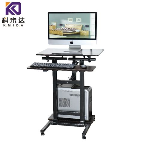 Weight Loss Standing Desk by Table Standing Sitting Lifting Weight Loss Simple Mobile
