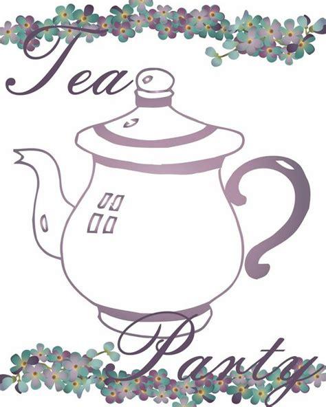 printable tea invitations template get free printable tea invitations tea