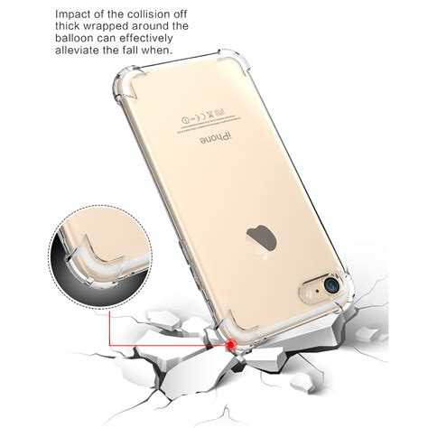 Anti For Iphone 7 anti tpu silicone softcase for iphone 7 8