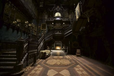Grimmauld Place Floor Plan crimson peak set design photos architectural digest