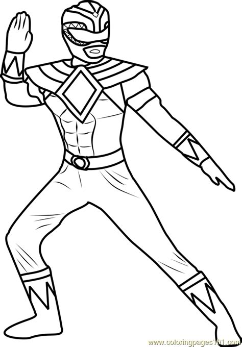 coloring pages green power ranger power ranger green coloring page free power rangers