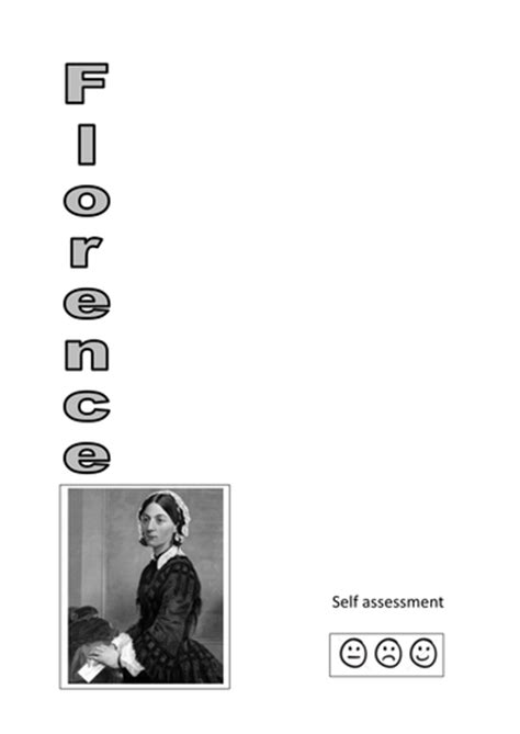 3 florence nightingale acrostic poem templates by kayld