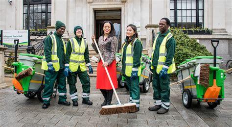 expanded street cleaning service  islington islington
