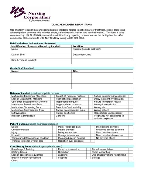 incident report for nurses sle nurses sle of incident report regarding fall 28 images