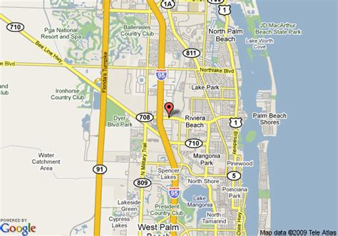 map of riviera beach travelodge west palm beach