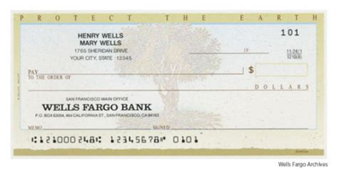 The Routing Number And Wells Fargo Company Rest Of Traditional Fargo Business Check Template