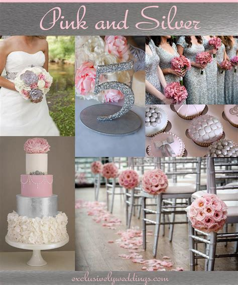 wedding color idea pink and grey white silver oooo now pink and gray wedding your wedding color pair pink and