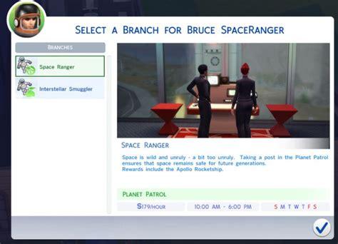 actor career sims 4 cheat the sims 4 astronaut career job rewards bonuses