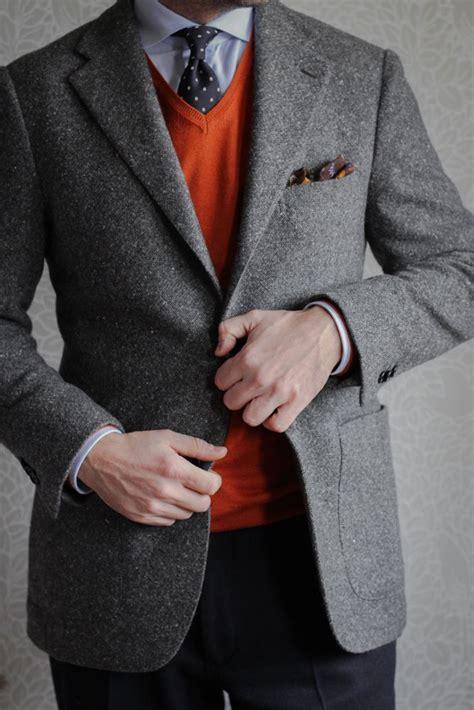 Grey Premium Blazer Jacket Jas Cardigan Keren 30 best tweed images on tweed suits gentleman fashion and marsden