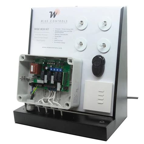 mr resistor wise box wise box table top display unit wise box receiver switch remote 4 channel 10 s