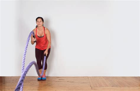rope swing workout 20 epic battle ropes exercises greatist