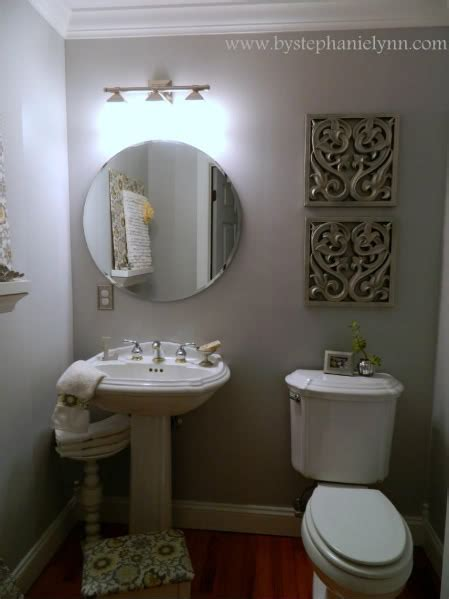 Southern Home Decor Ideas by My Powder Room Decorating Makeover For Less Than 15