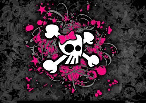 wallpaper girly skull girly skull wallpapers for desktop www imgkid com the