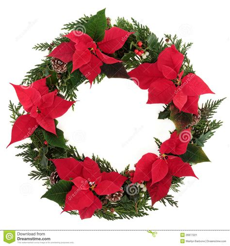 wreath clipart poinsettia pencil and in color wreath