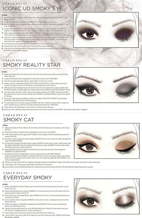 Murah Eyeshadow Decay Smoky Smokey Eye Eyeshadow urbandecay nakedsmoky getthelook 748 215 1 150 pixels fashionista makeup