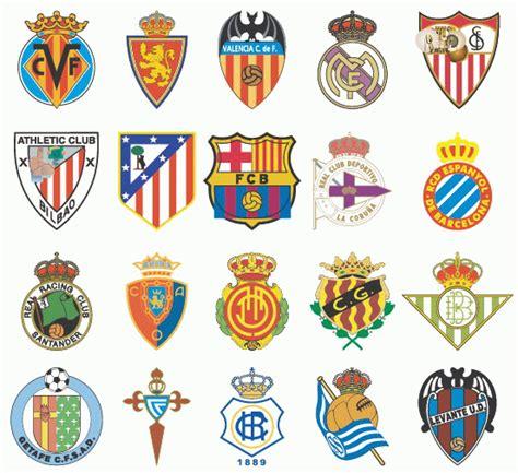 logo design vector la liga football club logo desain