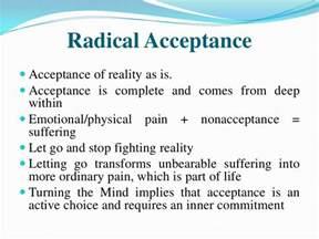 radical acceptance on pinterest borderline personality