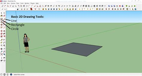google design basics how to create your first 3d model in sketchup a beginner