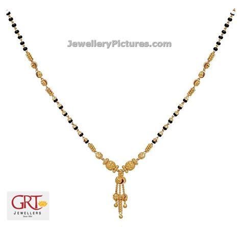 gold black chain designs black gold chain designs grt jewellery designs