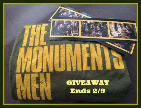 Protectanddefend Com Sweepstakes - the monuments men prize package giveaway
