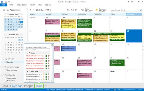 Where Is Calendar In Outlook 2013 Riva Crm Integration Outlook 2016 And 2013 For Windows