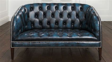Blue Chesterfield Sofa Blue Chesterfield Sofa Smileydot Us