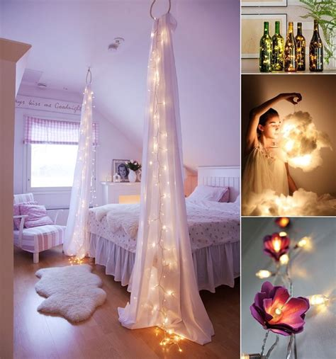 String Ideas - amazing string lights diy decorating ideas vertical home