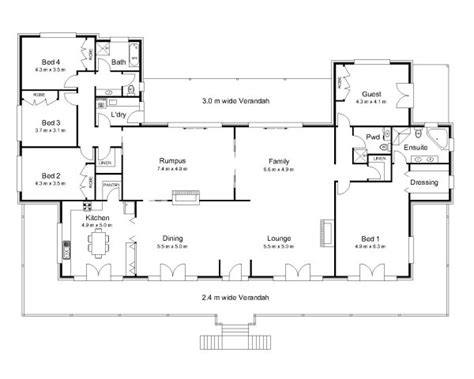 australian home plans floor plans the rawson 171 australian house plans