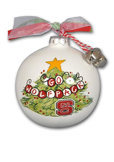 magnolia university of tn christmas tree ornaments magnolia 3 5 in nc state tree ornament belk
