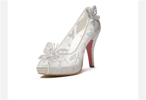 cinderella high heel shoes 2015 newest cinderella shoes for prom