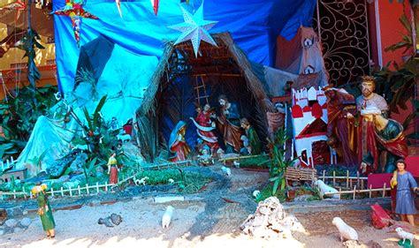 best christmas crib design 2015 crib decorations celebrations more around mangalore around mangalore