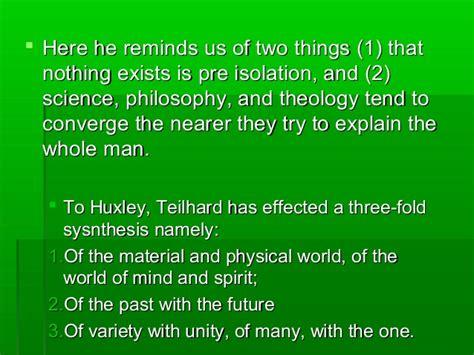 the phenomenon of man chapter 7 the phenomenon of man