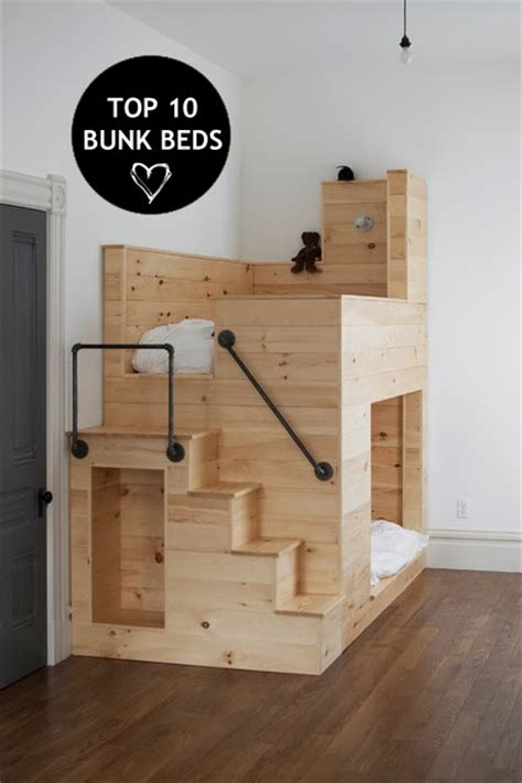 coolest bunk beds rue du chat qui p 234 che interiors top 10 coolest