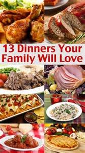easy family menu ideas dinners your family will love