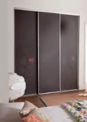 3 door chalk board white board sliding wardrobe doors