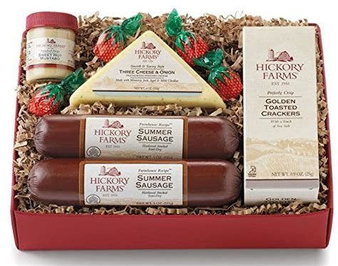 hillshire farm christmas gift set hillshire farm classic collection sausage cheese mustard crackers gift set 35
