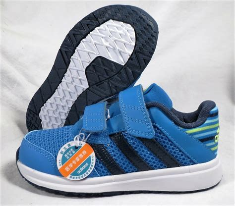 adidas snice 4 cf blue green boys toddler shoes size 7 ebay