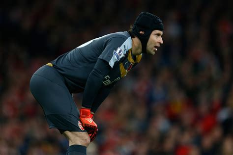 arsenal goalkeeper arsenal goalkeeper petr cech i would be more confident
