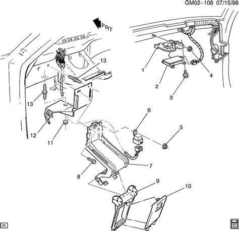 security system 1994 pontiac bonneville parking system alarm system anti theft