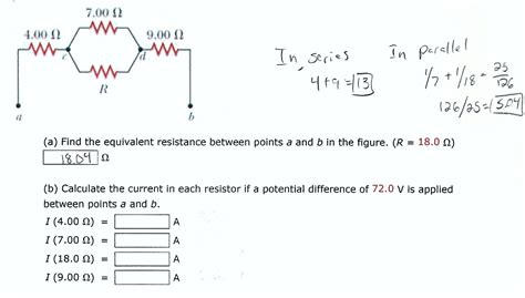 what is the point of a 0 ohm resistor find the equivalent resistance between points a an chegg