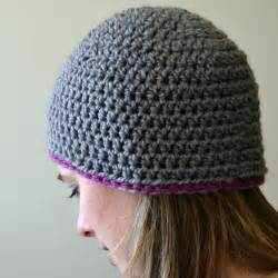 crochet in color chunky beanie pattern
