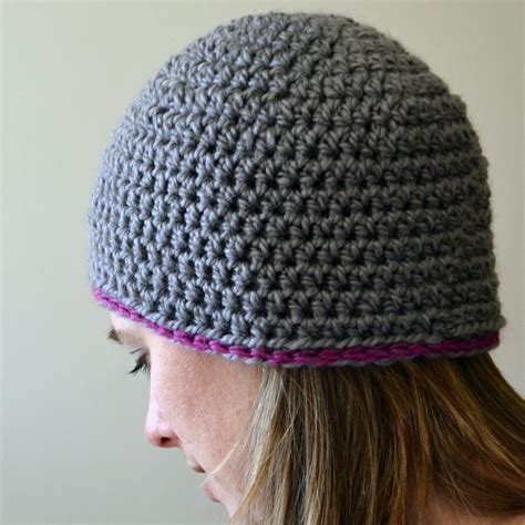 pattern crochet hat free crochet in color chunky beanie pattern