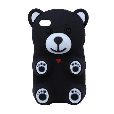 wholesale iphone    gummy bear case black