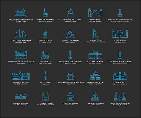 Imagenes De Simbolos Historicos | iconos tur 237 sticos de monumentos hist 243 ricos del mundo