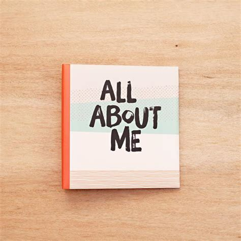 all about all about me 6x8 album